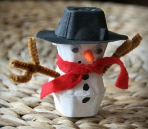 muñecos de nieve infantiles
